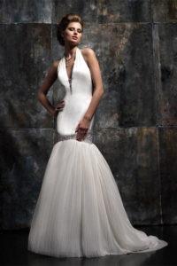 Свадебное платье в стиле фламенко