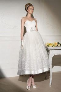 Свадебное платье в стиде 60-х