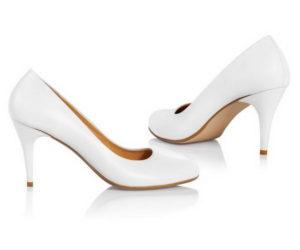 Свадебные туфли-лодочки